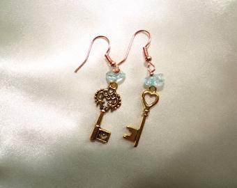 Earrings . keys
