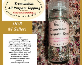 Tony's Tremendous All Purpose Topping