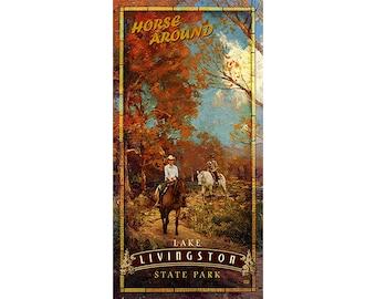 Lake Livingston State Park, Horseback Riding, Horses, Texas State Parks