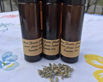 2017 Solar Eclipse Lavender Herbal Oil - 10ml Amber Roller