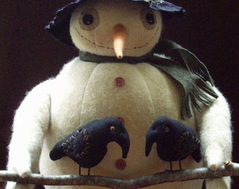 Jolly Olde Snowman E-Pattern by cheswick company