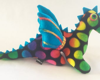 Rainbow Dots Dragon