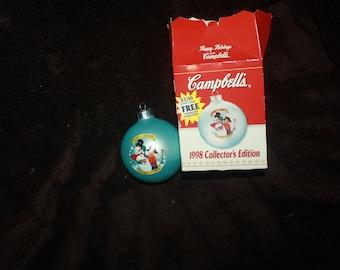 vintage 1998  Collectors editon Campbells Soup ornament