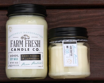 Pecan Praline Scented Soy Candle