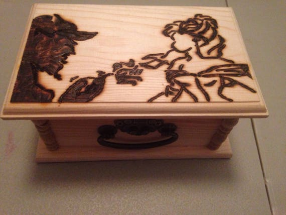 Beauty and the Beast jewelrytrinket box