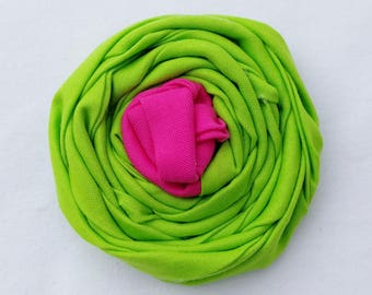 Add a Fabric Flower to your Collar 2- Tone Flower- Choose your Colors- Fabric Flower- Dog Collar Flower Attachment-