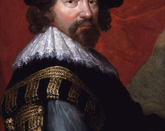 Poster, Many Sizes Available; Sir Francis Bacon, Viscount St Alban