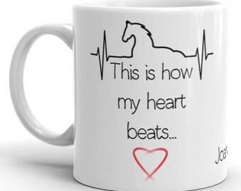 Personalised Horse Lover Mug