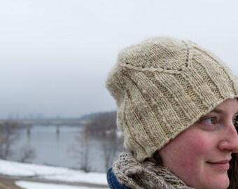 Caribou Mountains Hat Knitting Pattern PDF Digital Download