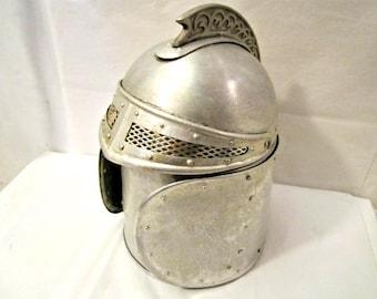 Medieval Knight Ice Bucket, Vintage Ice Bucket Medieval Theme, Ice Bucket