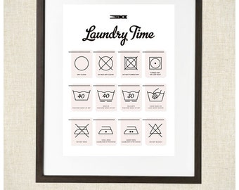 Laundry Secrets Print  8x10 Print