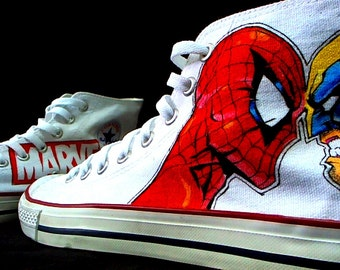 boys converse shoes high tops spider-man 2099
