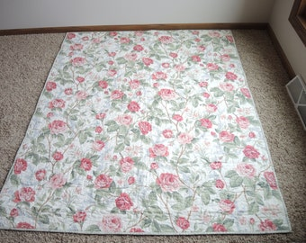 Quilts, Cabbage Roses Quilt, Bedding, Blankets & Throws, Home and Living