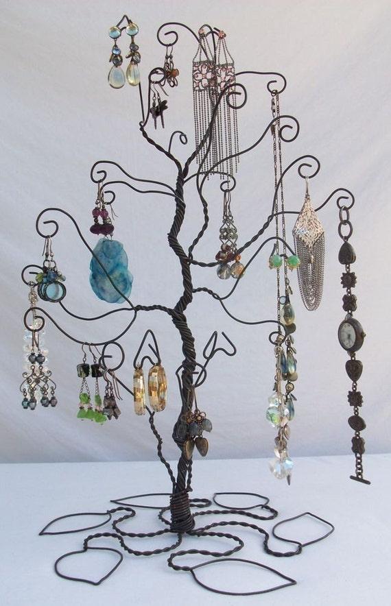 Draht-Schmuck Baum stehen Ohrring Display VORBESTELLEN