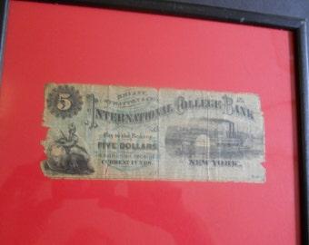 Private Bank Check