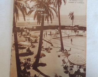 1937 Pacific Pictorial Photo Magazine.. Los Angeles Palm Springs California