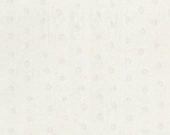 Nani Iro BEAU Yin Yang Kokka Japanese Fabric - Beau Pocho - lawn - off white - 50cm
