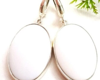 Earrings from Natural OPAL (purity soul)