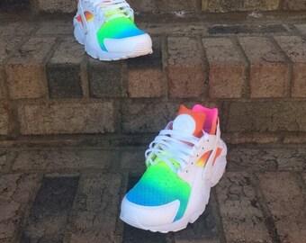 Custom Rainbow Huaraches
