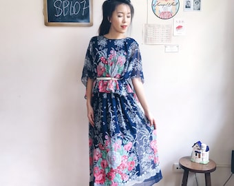 Vintage Midi Dress SP107