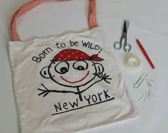 """Tote bag """"Born to be wild"""""""