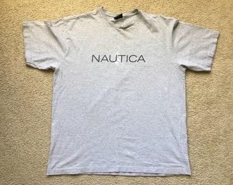 Men's Vintage 90s Nautica Sailing T Shirt Size Xl