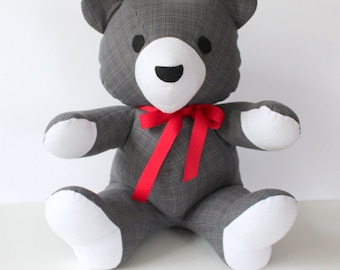 Custom Memory Teddy Bear - Made from Your Memory Clothes