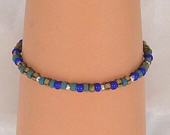 Stack bracelet, Sundance style, women's layering bracelet, Bohemian bracelet, gift for her.
