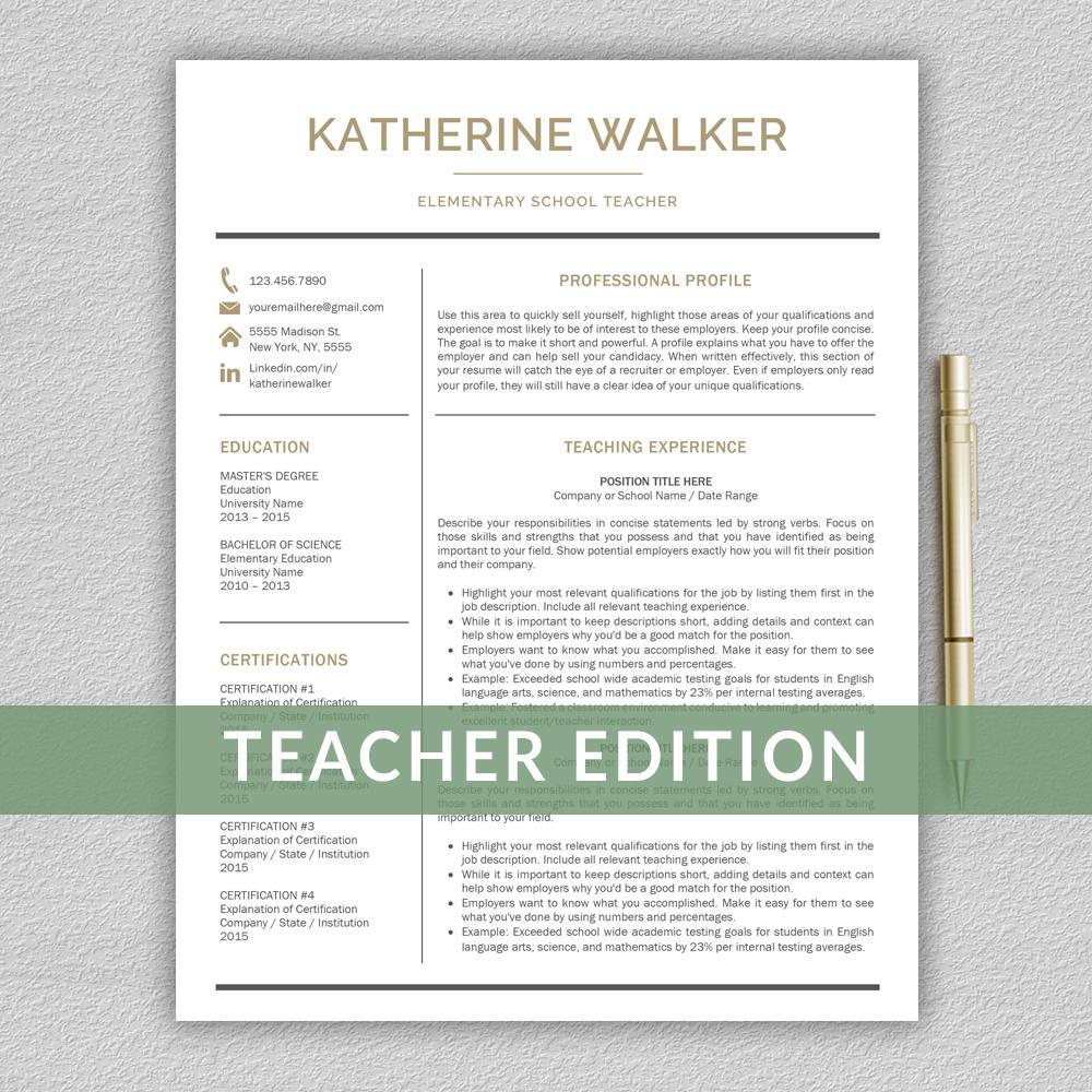 Lehrer Lebenslauf Vorlage für Word Lebenslauf CV Lehrer