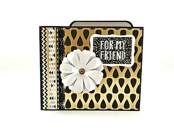 Mini Scrapbook Album Valentines day gift Photo Album Friends Memory Book BFF Gift Handmade Scrapbook Love Photo Album For Boyfriend