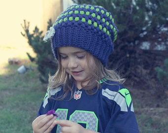 Slouchy Seahawks hat