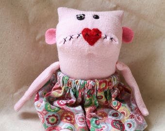 Sock Monster – Dolores – Pocket Size