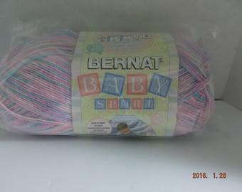 Bernat Baby Sport Yarn ~ Jumbo Ball ~ Pajama Party ~ 892 Yards ~ 8.5 Ounces ~