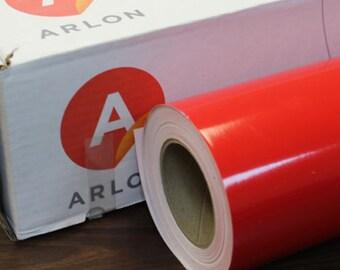 "Red Arlon 5000 12"" x 5' (5 feet) Roll * Sign Vinyl * Decal Vinyl"