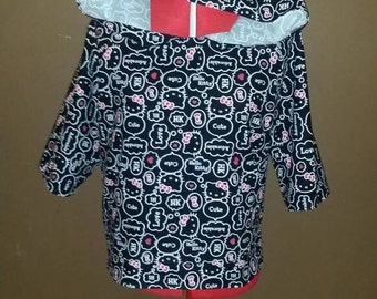 Black/Red/White Hello Kitty Hoodie