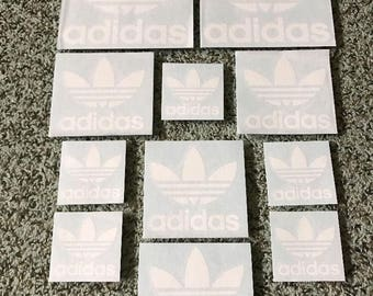Adidas shoes Stickers Skateboarding Vinyl Decal Die Cut Cell Phone IPhone Snowboard Skate sticker JDM - FREE SHIPPING