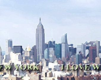 I don't love New York, I love what I become