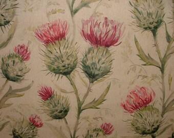 Voyage Decoration Thistle Glen Summer Floral Designer Curtain Upholstery Fabric