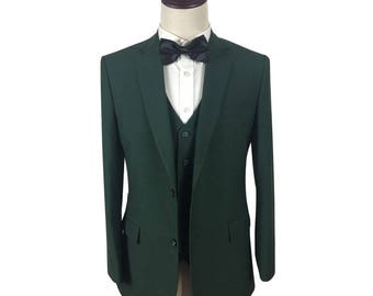 Custom Suit in Green