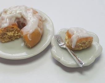 1:12  Vanilla cake dollhouse miniatures