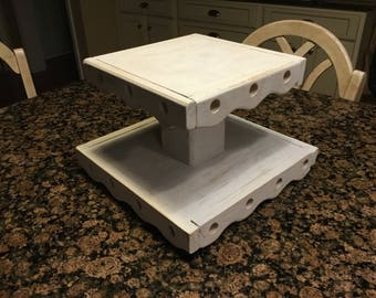 Two Tier Cupcake Stand