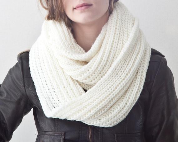 Weißen warmen Winter Schal weiß langer Schal weiße