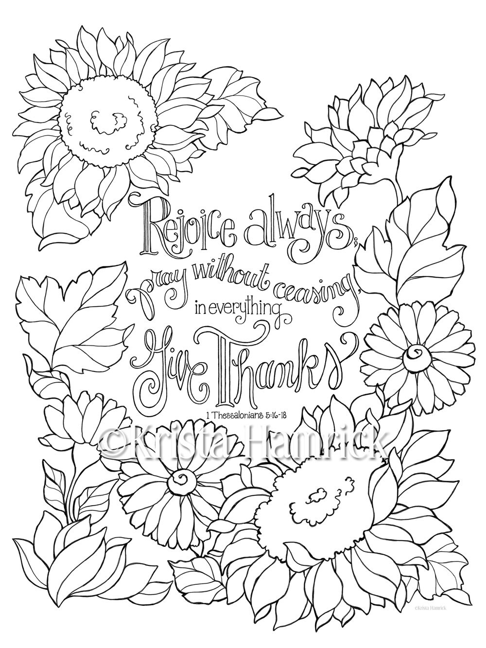 rejoice coloring pages - photo#5