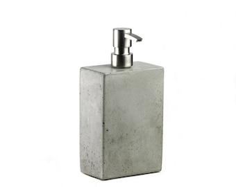 SALE! Concrete Soap Dispenser / Concrete Soap Pump