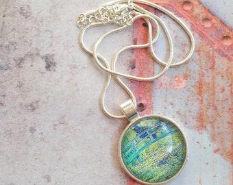 Necklace Art Claude Monet
