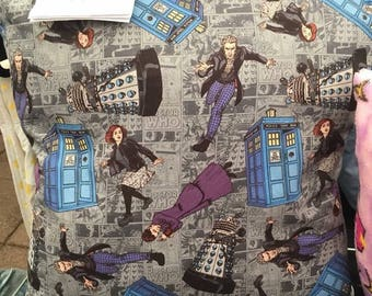 Doctor Who Themed Cushion