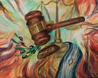 Courts of Mercy Art Print