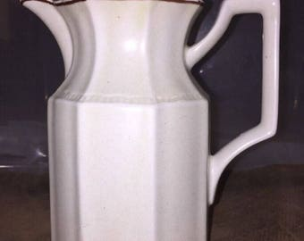 Kensington Staffordshire Ironstone Coffee Pot Handcrafted In England. ID# 2-20