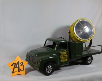 1950's Buddy-L Army Searchlite Truck