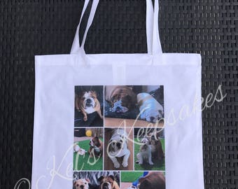 Personalised Photo Tote Bag - 100% cotton